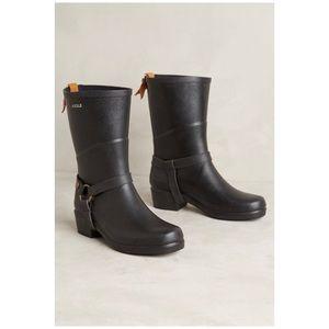 Anthro Aigle Miss Julie Rubber Rain Boots